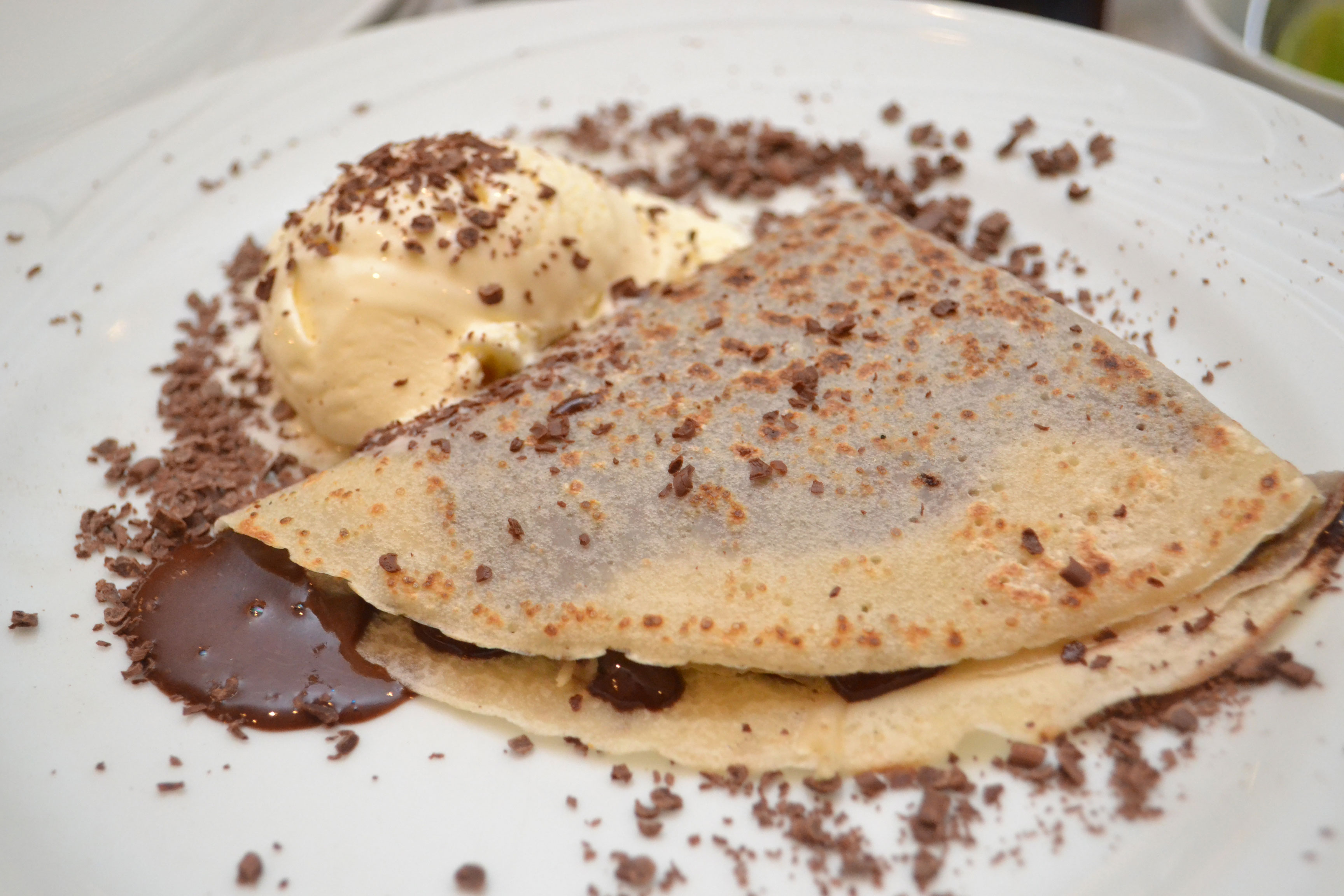 Crepe de Chocolate Crêpe La France
